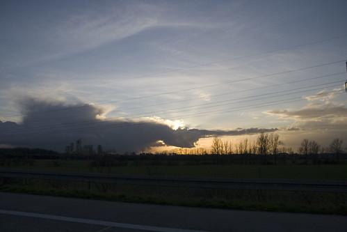 Himmel bei 170 km/h