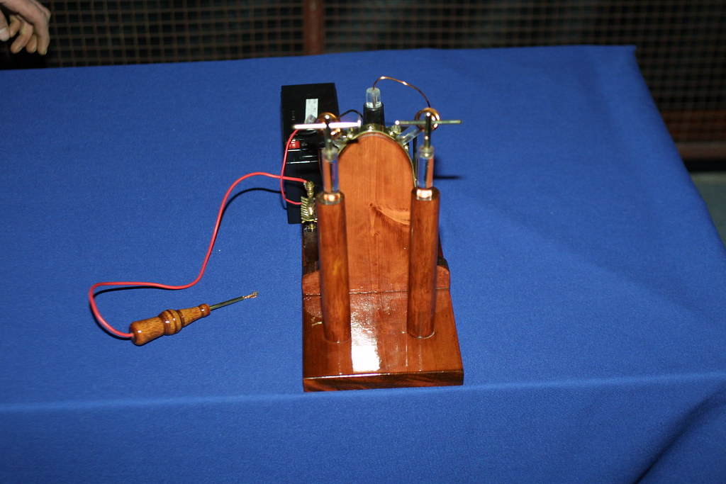 Induction coil at Bristol Dorkbot