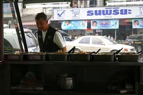 Chiang Rai food stall