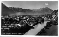 Interlaken-Unterseen und die Aare 1931 - by pizzodisevo (first of all, my health)