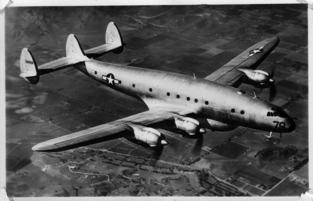 Lockheed Constellation by Andy Field (Field Office), on Flickr