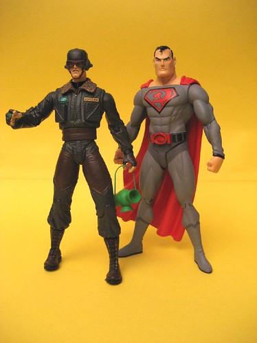 Red Son Hal Jordan and Superman