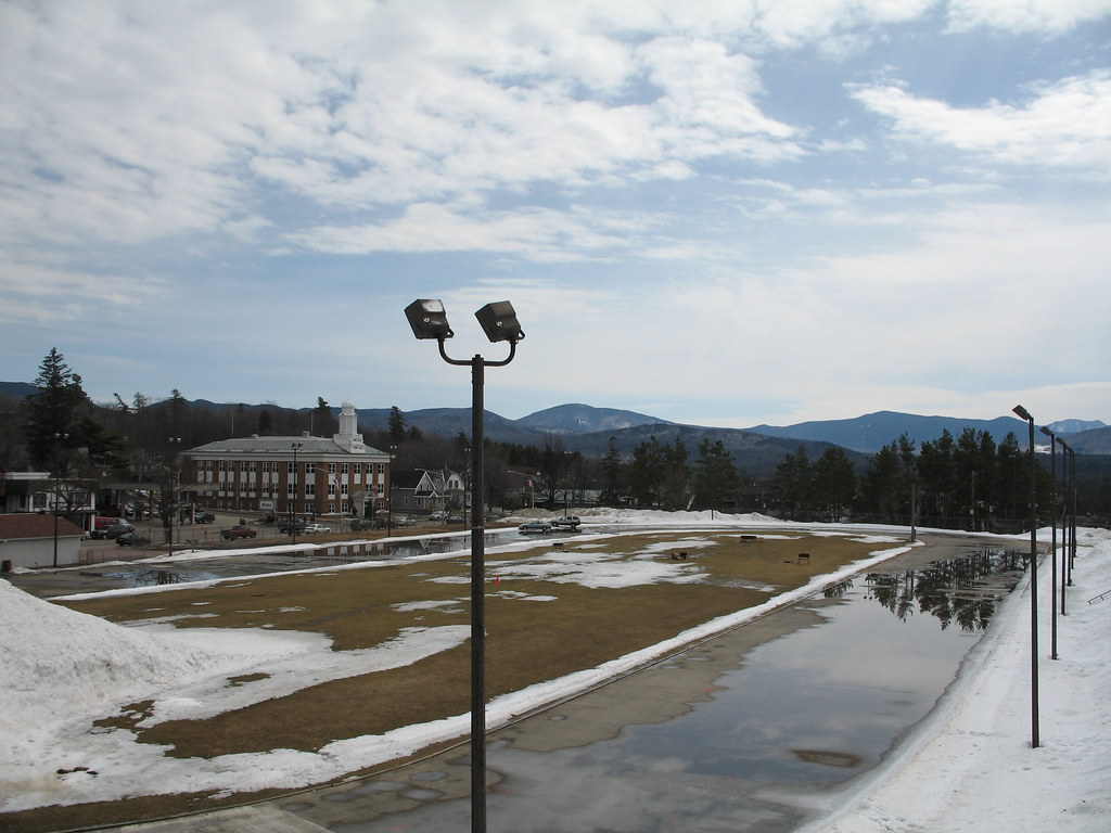 Speed skating oval, Olympic Center, Lake Placid