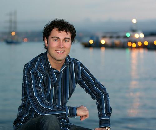 Dustin on Sausalito waterfront