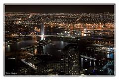 Docklands & Harbor Bridge (~ T. Man) Tags: bridge melbourne docklands rialto
