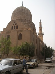 Khanqah of Sultan al Ashraf Barsbay (1432) (helen_romberg) Tags: architecture egypt mosque historic cairo cityofthedead islamiccairo northerncemetery amribnalas