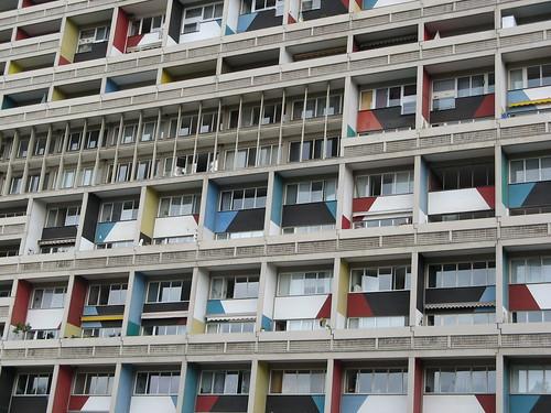 Le corbusiers unit d 39 habitation in berlin 1 a photo on flickriver - Unite d habitation dimensions ...