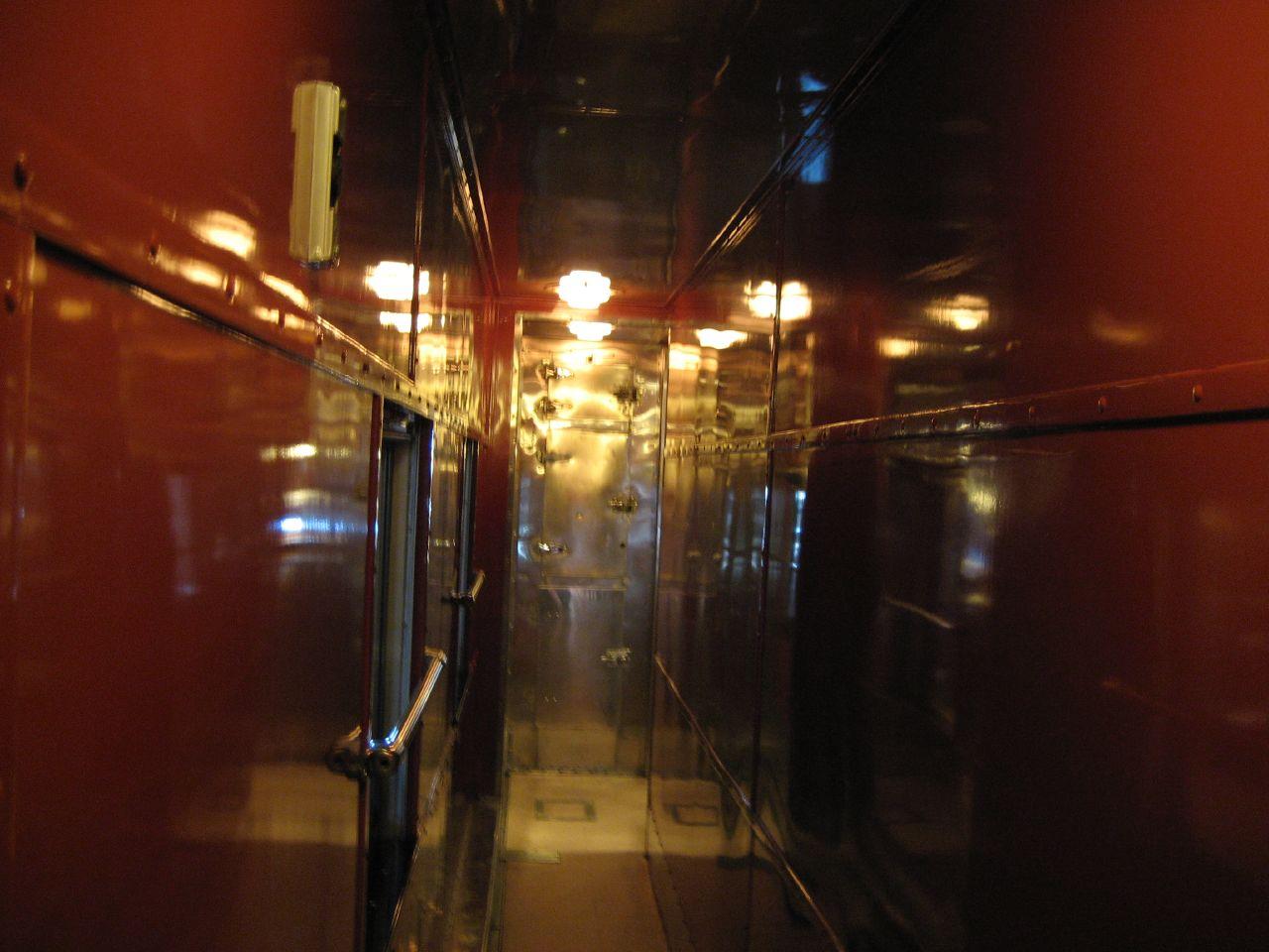 Dining Car, passageway