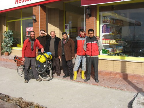 Friendly service station chaps, Suluova, Turkey