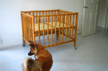 finished playpen