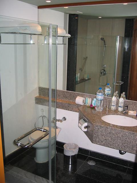 Ванная комната в номере.