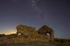 Australia Day - Australia Night (Michael SA) Tags: longexposure sky night rural d50 stars star ruins space ruin australia southerncross australiaday southaustralia crux 30seconds 18mm milkyway strathalbyn michaelbuddle dsc9972nef