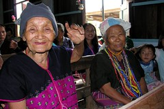two old women in the karen church