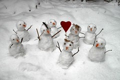 The Power Of Love :) (!!!  Monika  !!!) Tags: winter snow fun snowman play weekend story short snowmen 2007