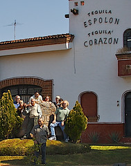 Group Shot At Tequila Espolon