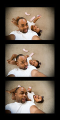 2 / 52:  Daddy~Daughter Time (-Teddy) Tags: canon daddy trinity 5d laughter funfun s1 1022mm lalalala fft blacklove exodusphoto w0 fridaysfoodforthought