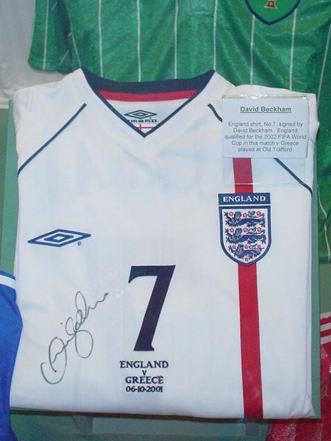 David Beckham by mi.