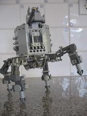 War Castle (Broken Forge Photography) Tags: castle robot lego mech steampunk foitsop