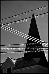Icy Steeple - by Voxphoto