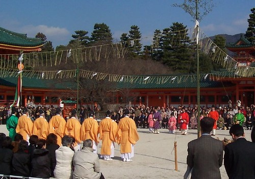 Monks at Heian