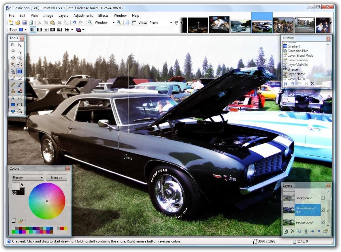 Paint.net 3.0