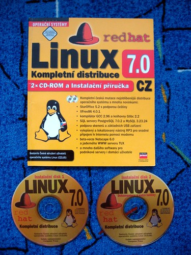 book redhat linux cdrom czlug