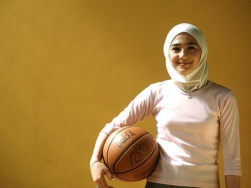 Jordanian Muslim girl's photo