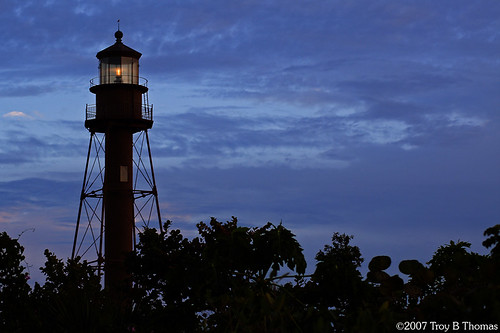 Sanibel Lighthouse; Photography by Troy Thomas