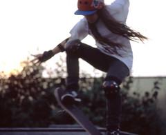 ARIANA005 (ILLskateFORes) Tags: girl one cancer commercial skateboard less cervical gardasil