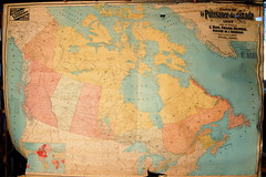 Map of Canada, 1907