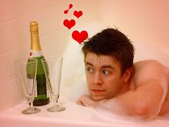 Day 94 / 365 (vday) (kriegs) Tags: selfportrait hearts bubbles explore tub valentines bubbly missingsomething flickrexplore 365days interestingness171 i500 abigfave