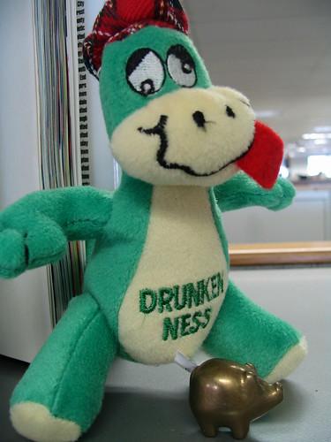 Drunken Ness at the Office
