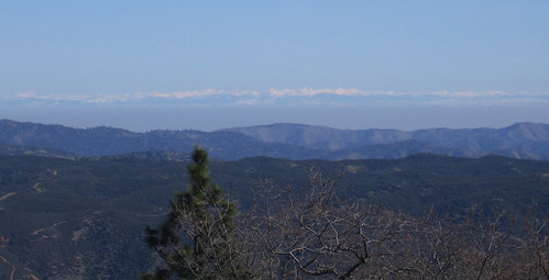 Snow-capped Sierra to the east