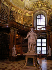 The Prunksaal of the Austrian National Library