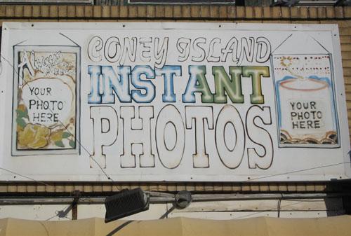 Coney Island Instant Photos