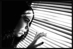 Blinds (Sadie Collins Hodge) Tags: light window self thought blinds