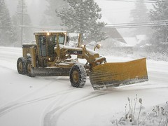 snow plough (squeezemonkey) Tags: snowplough tahoe american vehicle snow