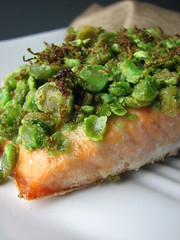 Wasabi Salmon with Lime III