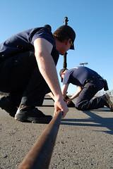 Connecting Gas Line (cozmosis) Tags: training arkansas firefighting firefighters mfd fireacademy pulaskicounty diamondcenter maumelle maumellefiredepartment lpgas arkansasfireacademy