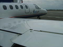 citation wing (r.ariaans) Tags: airplane fly aircraft cessna citation phlab