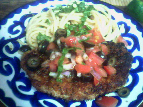 Steak Milanese