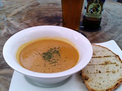 Soup of the Day and Bannockburn Pale Ale