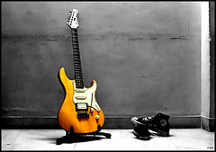 mY oRanGe crUSh... (poonomo) Tags: orange guitar nikond50 converse yamaha 1855mm pacifica chucks electricguitar xyz yamahapacifica nikonstunninggallery ickypoo impressedbeauty bsborange 812w