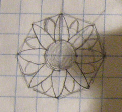 sketch of sunflower