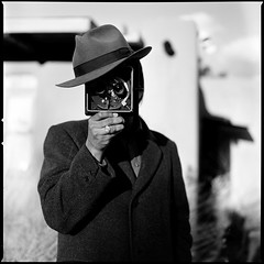 Stereo Man - hasselblad black white santa portrait чёрныйквадрат efke santafe blackandwhite new mexico newmexico