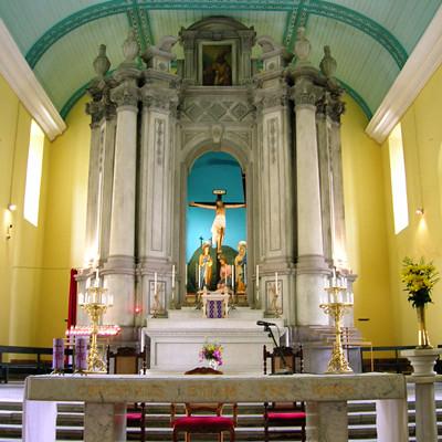 聖堂內的祭台