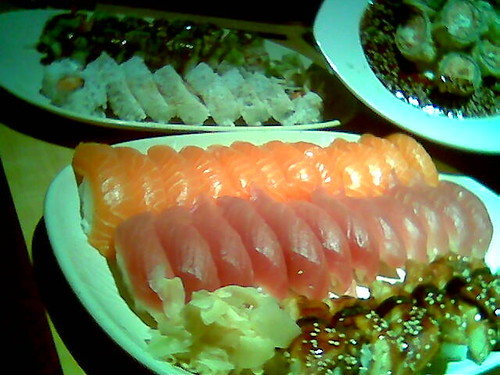 Sushi Lunch 3-8-07