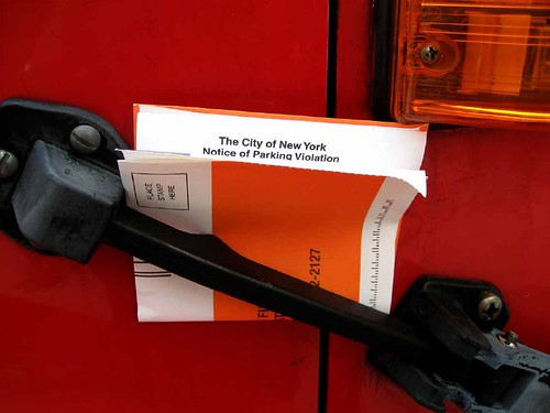 New York City parking ticket photo by Maulleigh on Flickr