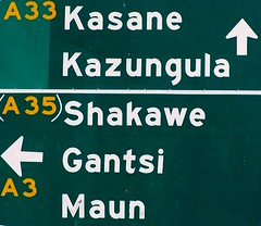 Road Sign - Botswana