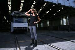 TramGirl (Lamul) Tags: strobist